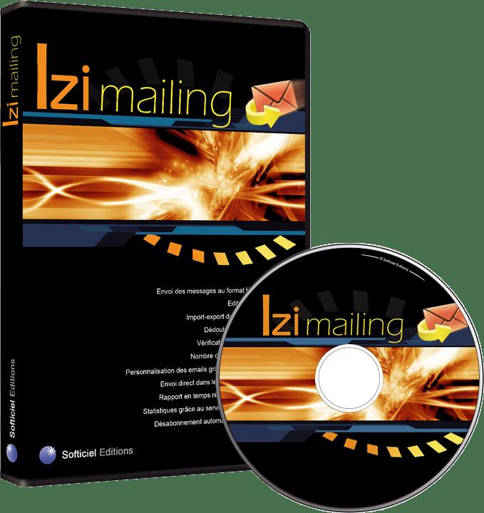 UX Design - Logiciel emailing Izimailing