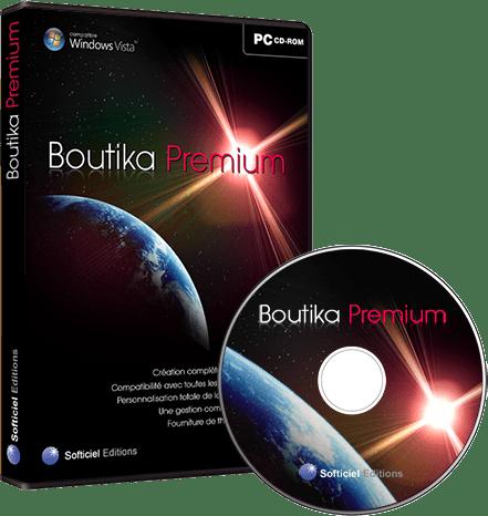 UX Design - Logiciel ecommerce Boutika Premium