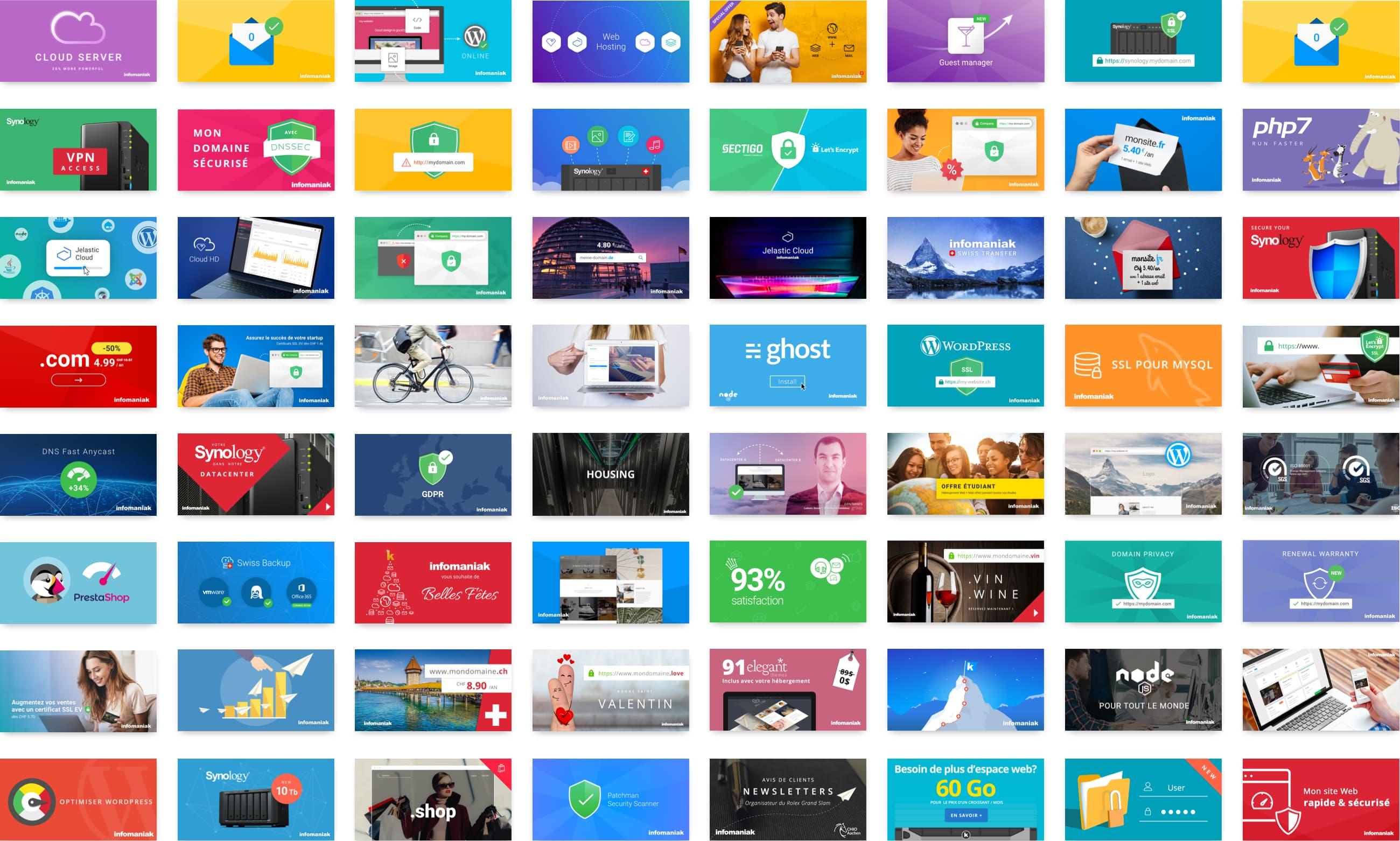 Digital marketing infomaniak réseaux sociaux