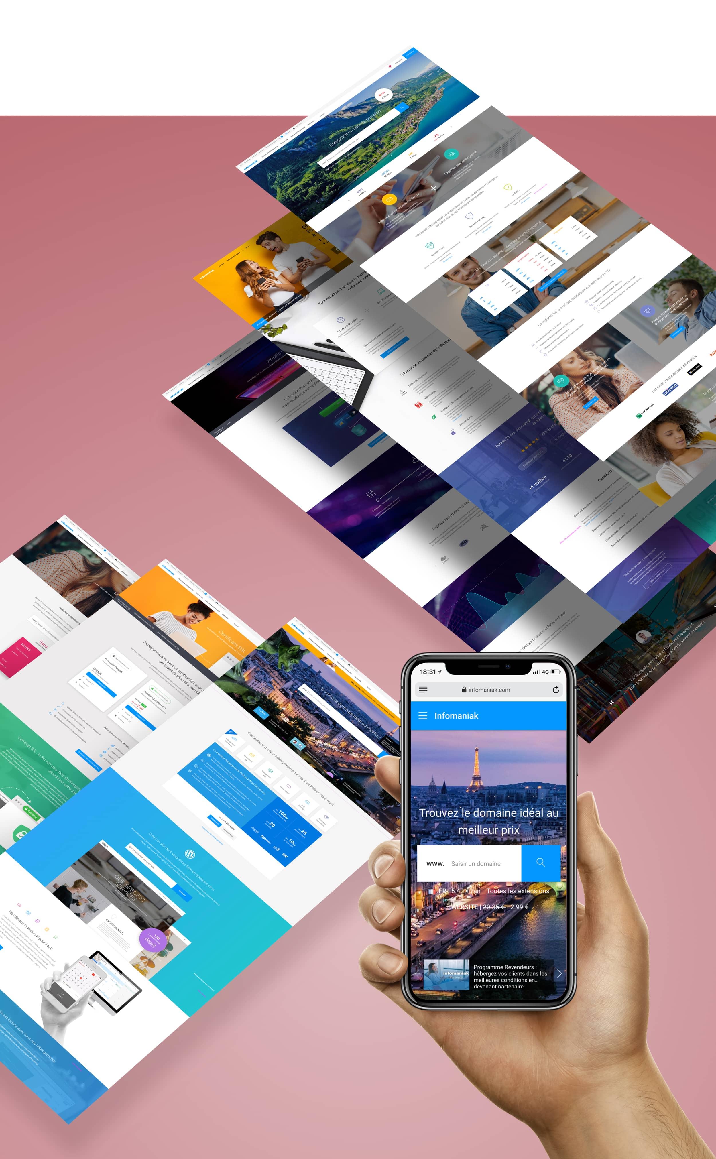 Site infomaniak web design
