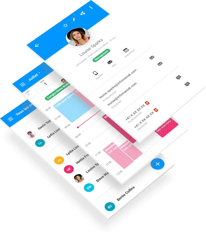 Webmail Infomaniak UX Designer